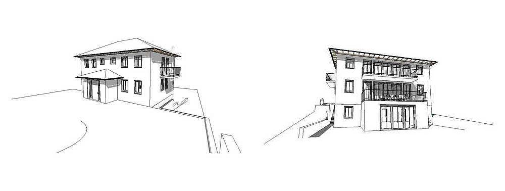 haus am hang morgenstern architektur. Black Bedroom Furniture Sets. Home Design Ideas