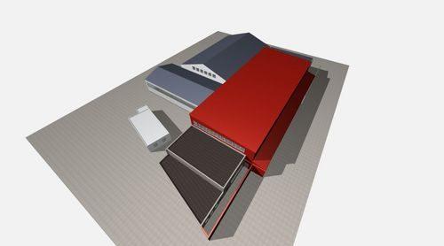Alpine Energie Hallenerweiterung