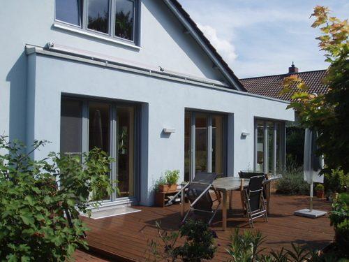 Wohnraumerweiterung und Fassadenmodernisierung