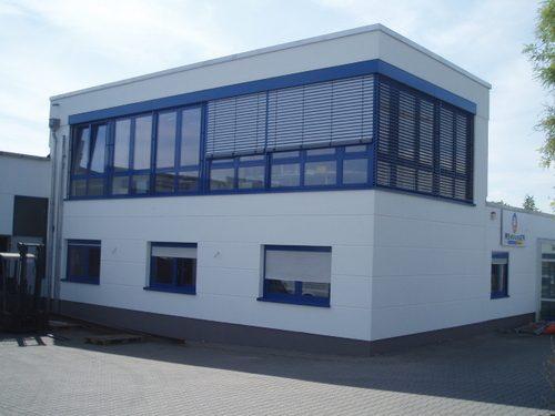 Erweiterung Bürogebäude