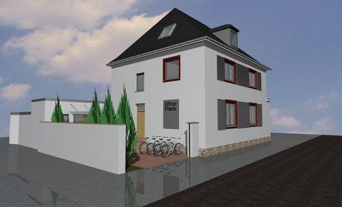 Energetische Sanierung und Fassadenneugestaltung