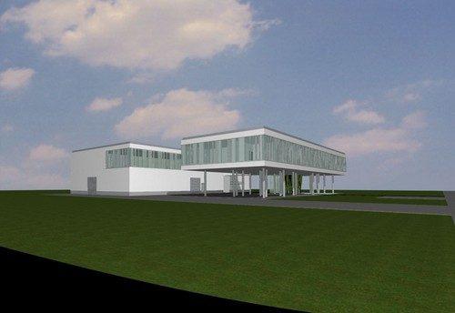 Verwaltungsgebäude und Lagerhalle Correct-Pro GmbH