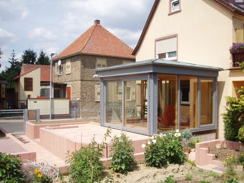 Wintergarten Erweiterung Barth