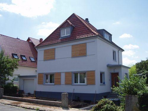 Erweiterung und Fassadenneugestaltung