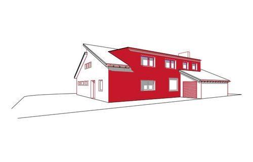 erweiterung durch eine gaube und energetische neugestaltung morgenstern architektur. Black Bedroom Furniture Sets. Home Design Ideas